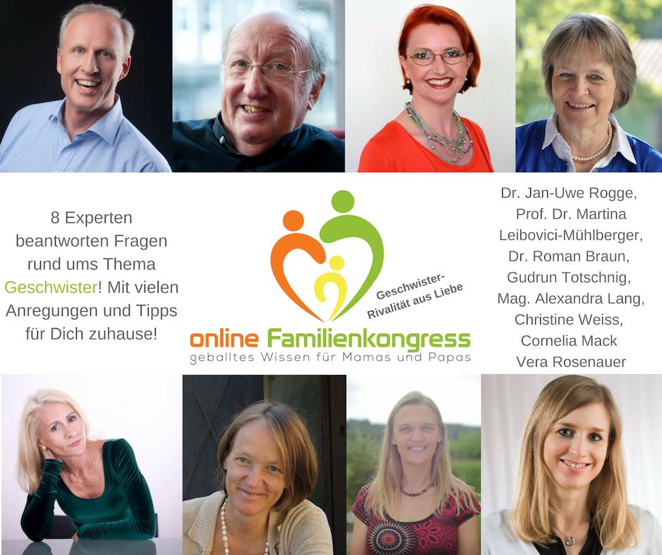 Online Familienkongress - Geschwister Rivalität aus Liebe