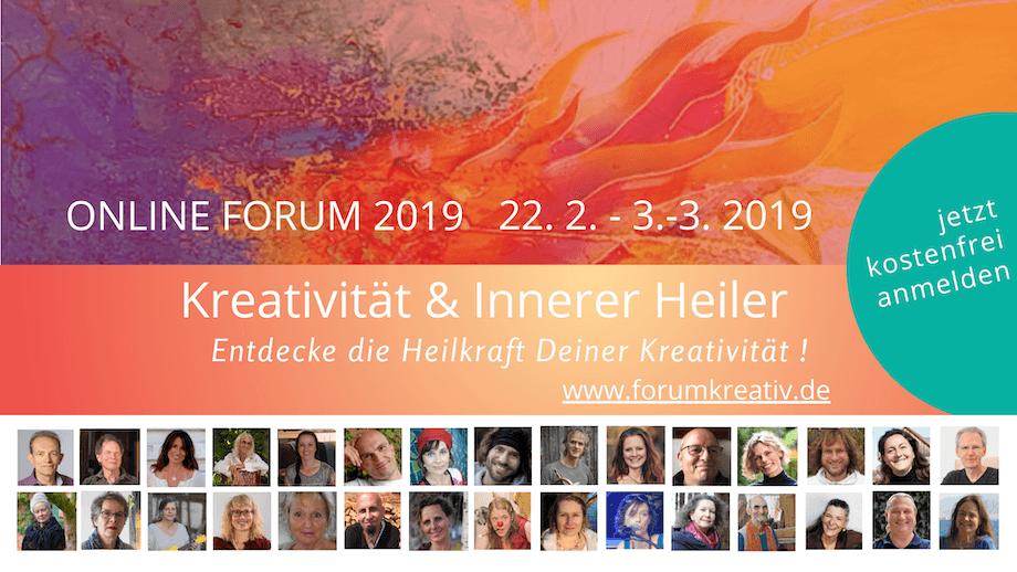 Forum Kreativität und Innerer Heiler 2019
