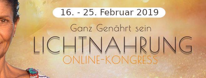 Lichtnahrung Online-Kongress 2019