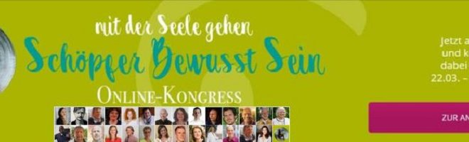 Schöpferbewusstsein Online-Kongress