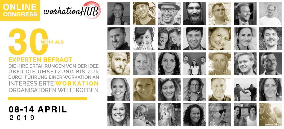 Workation-HUB Online-Kongress
