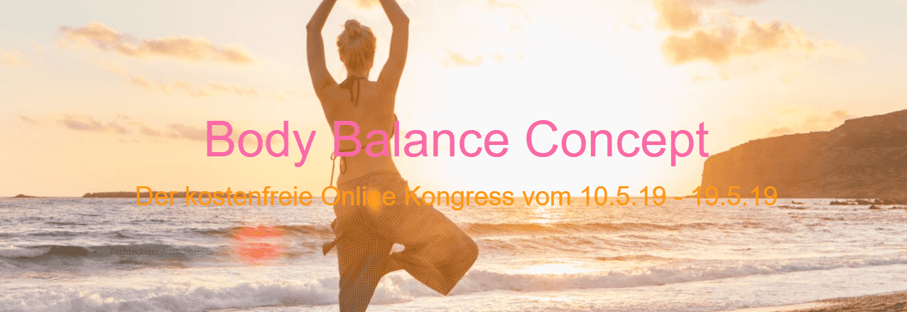 body balance concept Gesundheits-kongress