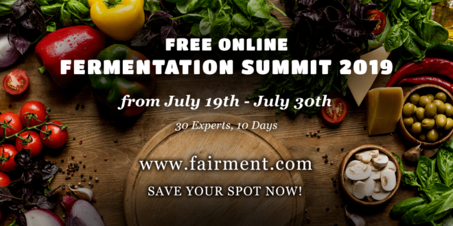 Fermentation Summit 2019 englisch