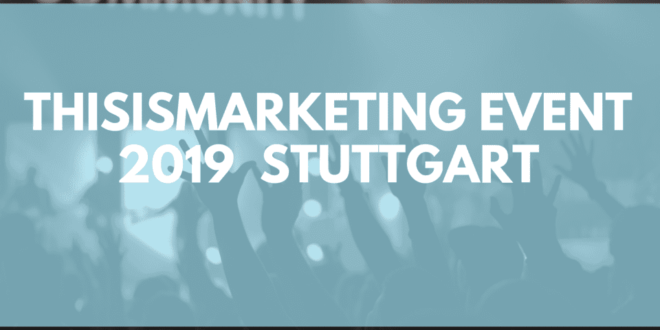 this is marketing 2019 stuttgart