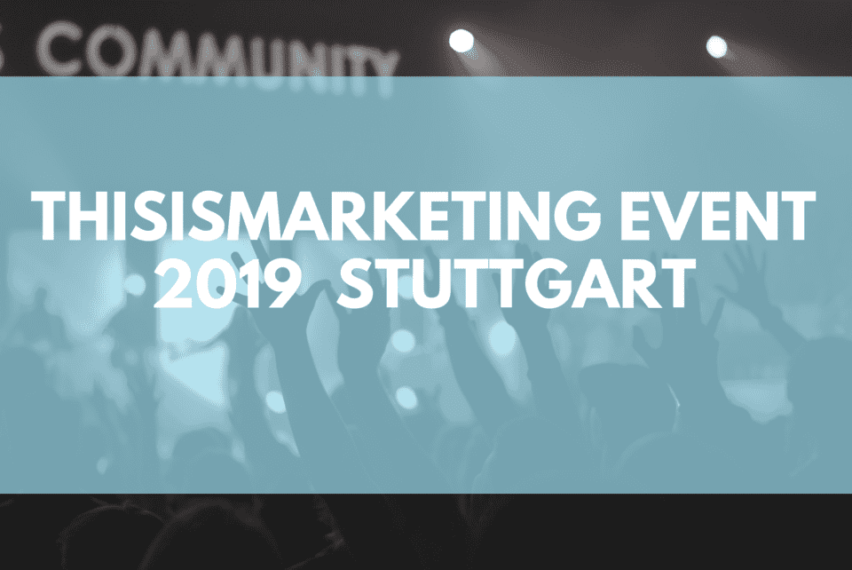 this is marketing 2019 stuttgart