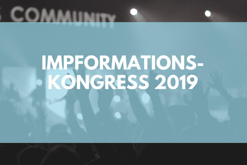 Impformationskongress der impf online kongress 2019