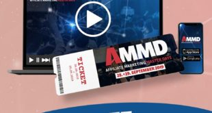AFFILIATE MARKETING MASTERDAYS 2019 ammd