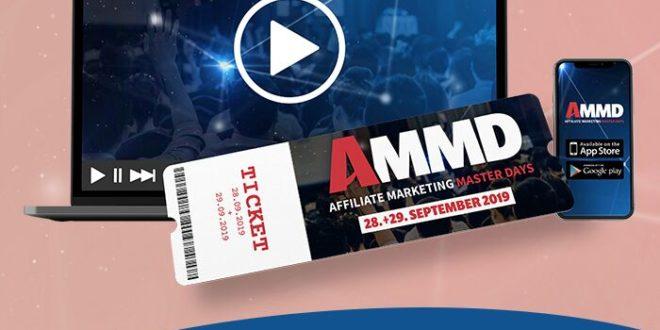 AFFILIATE MARKETING MASTERDAYS 2019 ammd