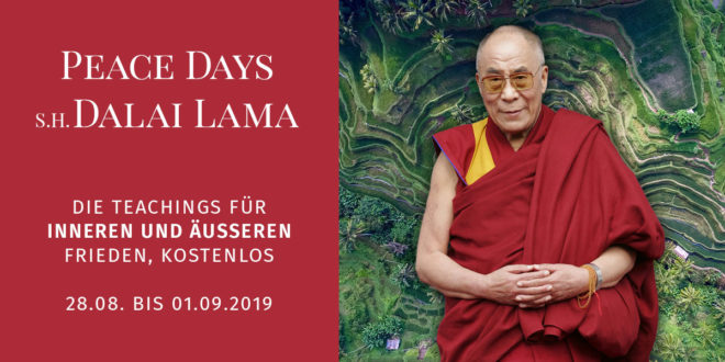dalai-lama peace days 2019