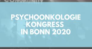 Psychoonkologie Kongress Bonn 2020