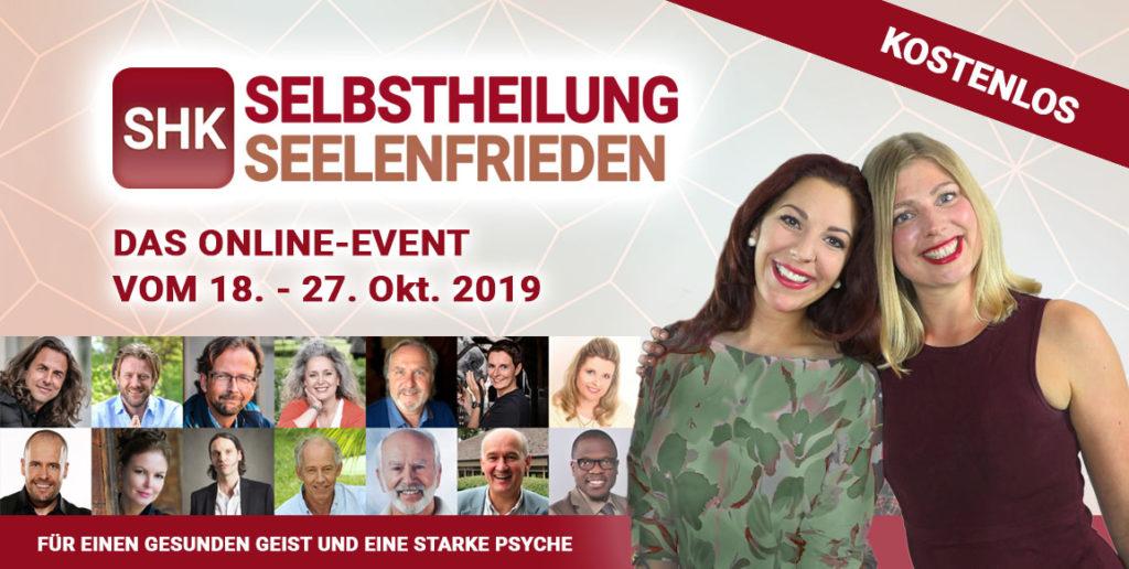 Selbstheilungs & Seelenfrieden Online Kongress 2019