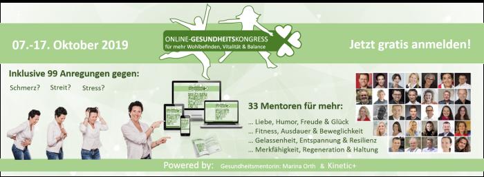 gesundheits online kongress Marina Orth 2019