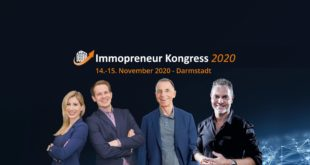 immopreneur kongress 2020 der Immobilien Kongress