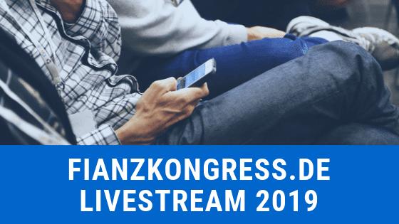 Finanzkongress 2019 Livestream von Thomas Klußmann
