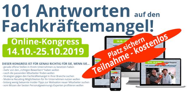 fachkräfte Online-kongress für Führungskräfte, Unternehmer & HR-Profis