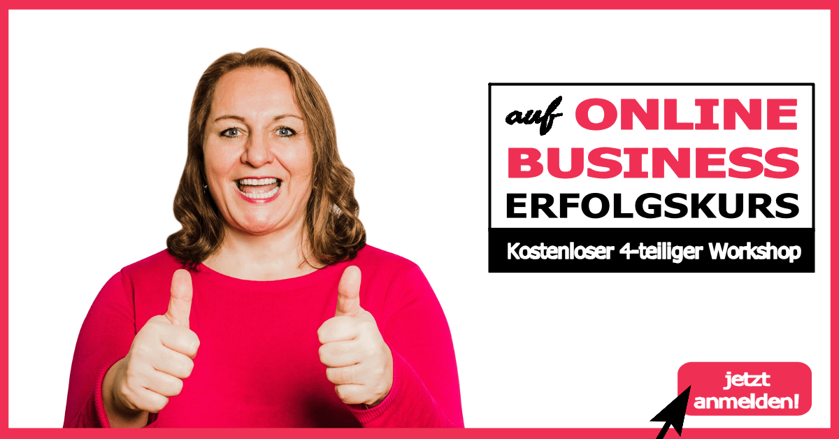 online business erfolgskurs Workshop von Meike Hohenwarter