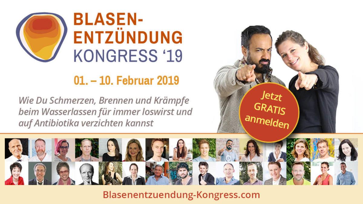 Blasenentzuendung Online-kongress 2019