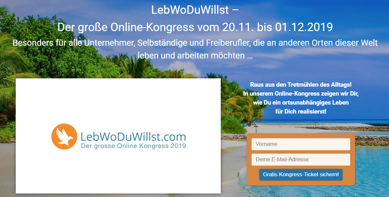 LebWoDuWillst Online Kongress