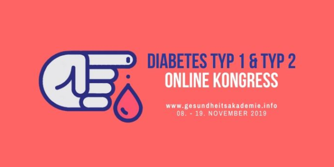 diabetes typ 1 typ 2 online kongress