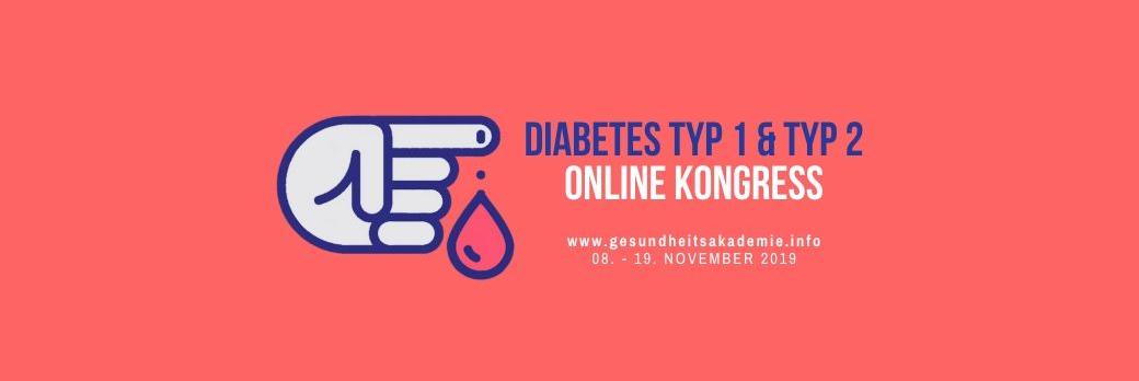 diabetes typ 1 typ 2 online kongress