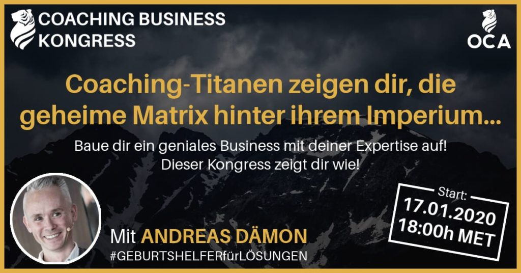 Andreas Dämon Coaching Business