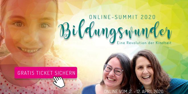 Bildungswunder Online-Summit 2020