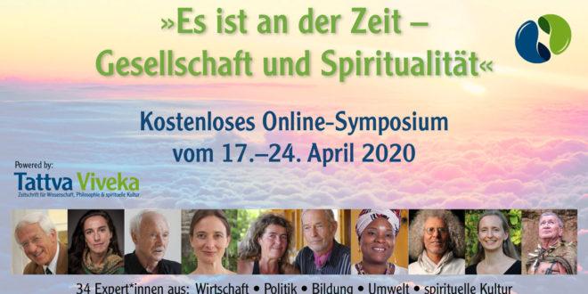 Gesellschaft Spiritualität Online-symposium