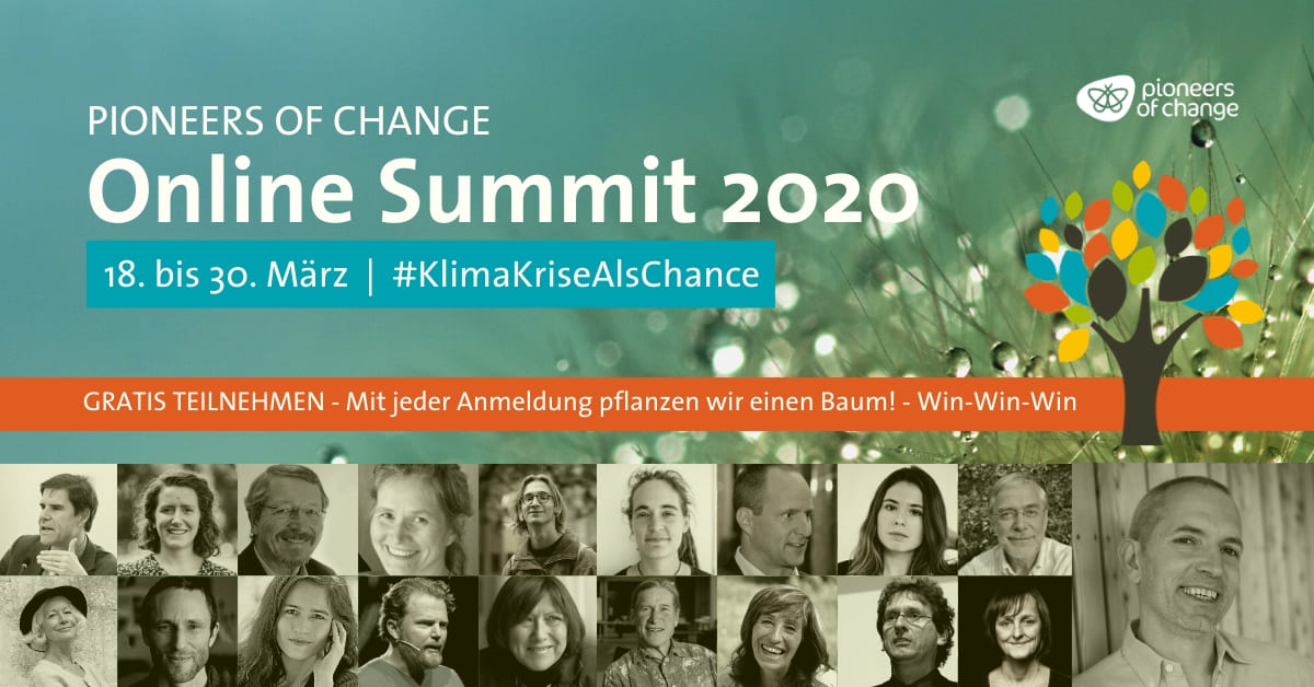 Pioneers of Change Online-Summit 2020