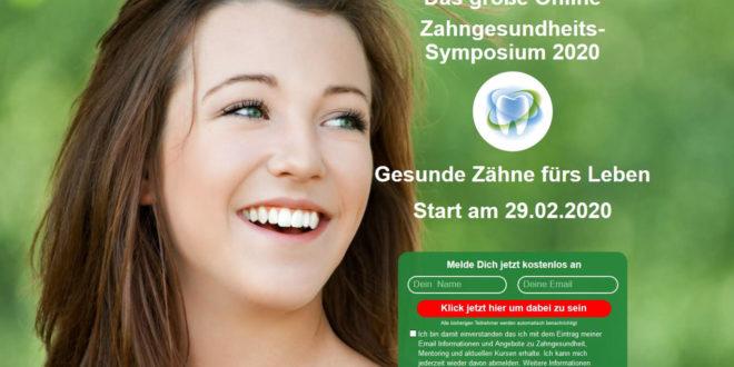 Zahngesundheits-Symposium 2020