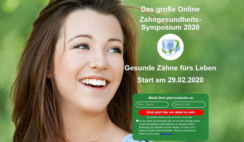 Zahngesundheits-Symposium 4 gesunde Zähne 2020
