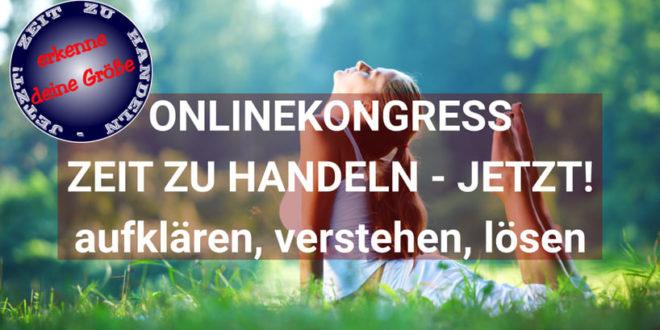 Zeit zu handeln Jetzt Online-Kongress