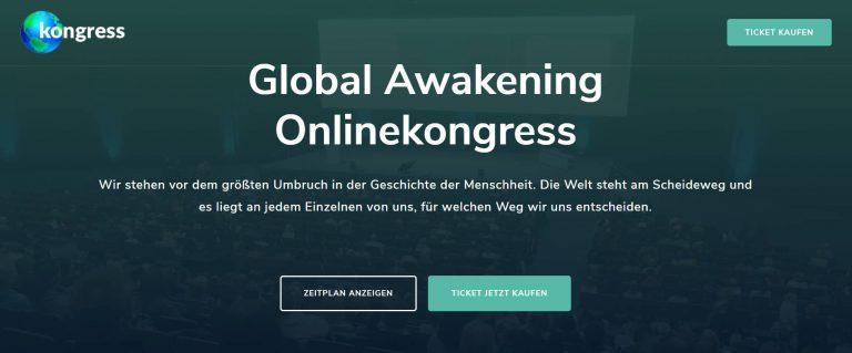 Global Awakening 2020 Online Kongress