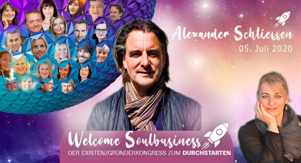 Alexander-Schlieffen Welcome Soulbusiness online-kongress