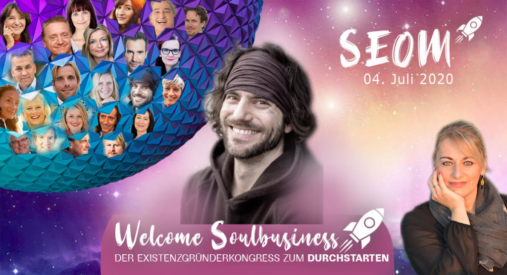 SEOM Welcome Soulbusiness onlinekongress