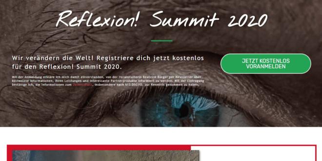 reflexion summit 2020