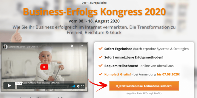 Business Erfolgs Kongress 2020