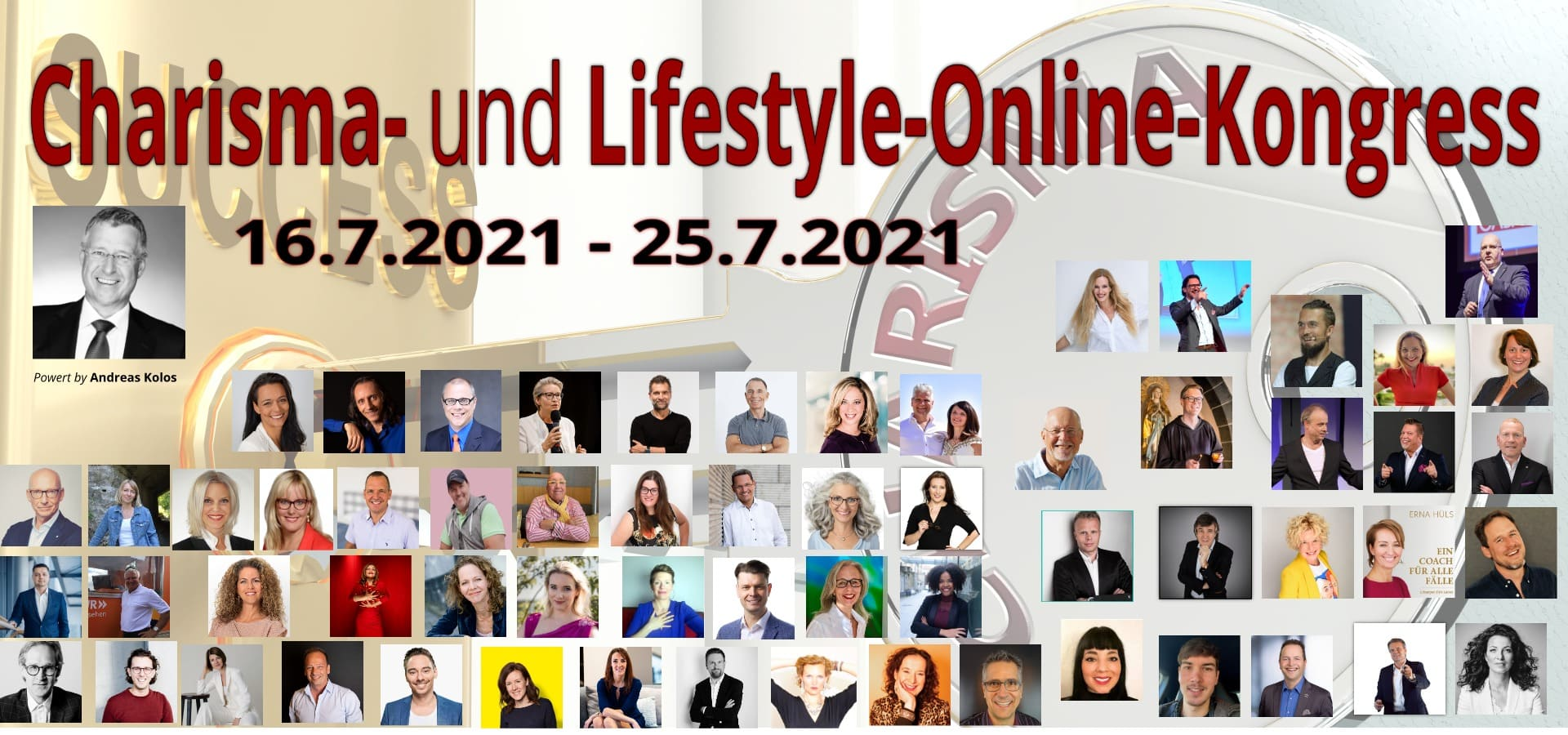 Charisma und Lifestyle-Online-Kongress