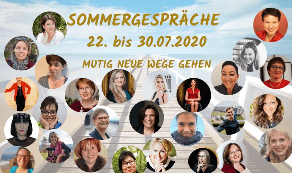 Sommergespräche 2020 - MUTIG NEUE WEGE GEHEN