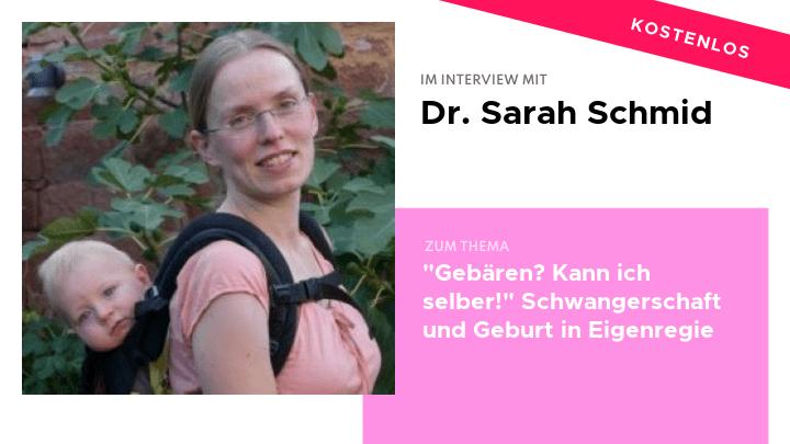 Dr. Sarah Schmid