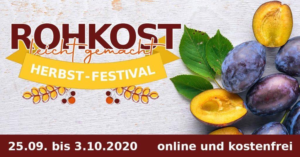 Rohkost Herbst-Festival