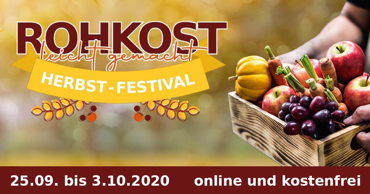 Rohkost leicht gemacht Herbst-Festival