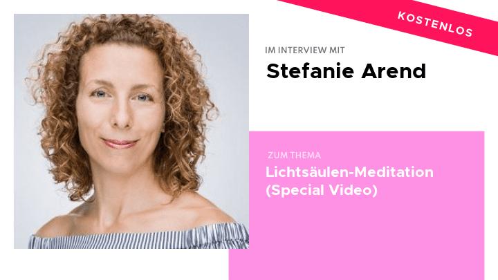 Stefanie Arend Video Special Lichtsäule