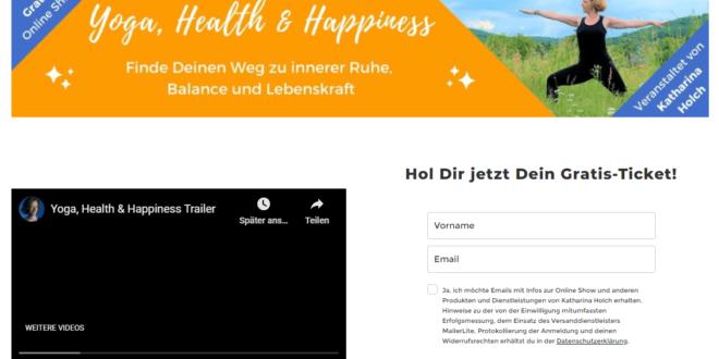 Yoga, Health & Happiness Show