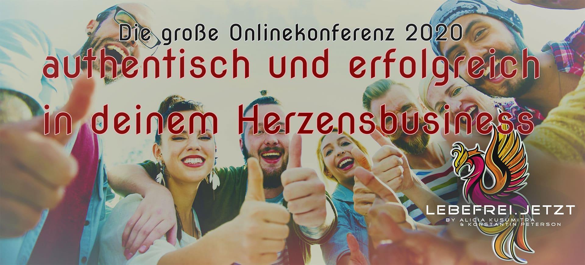 Die große Herzensbusiness Onlinekonferenz 2020