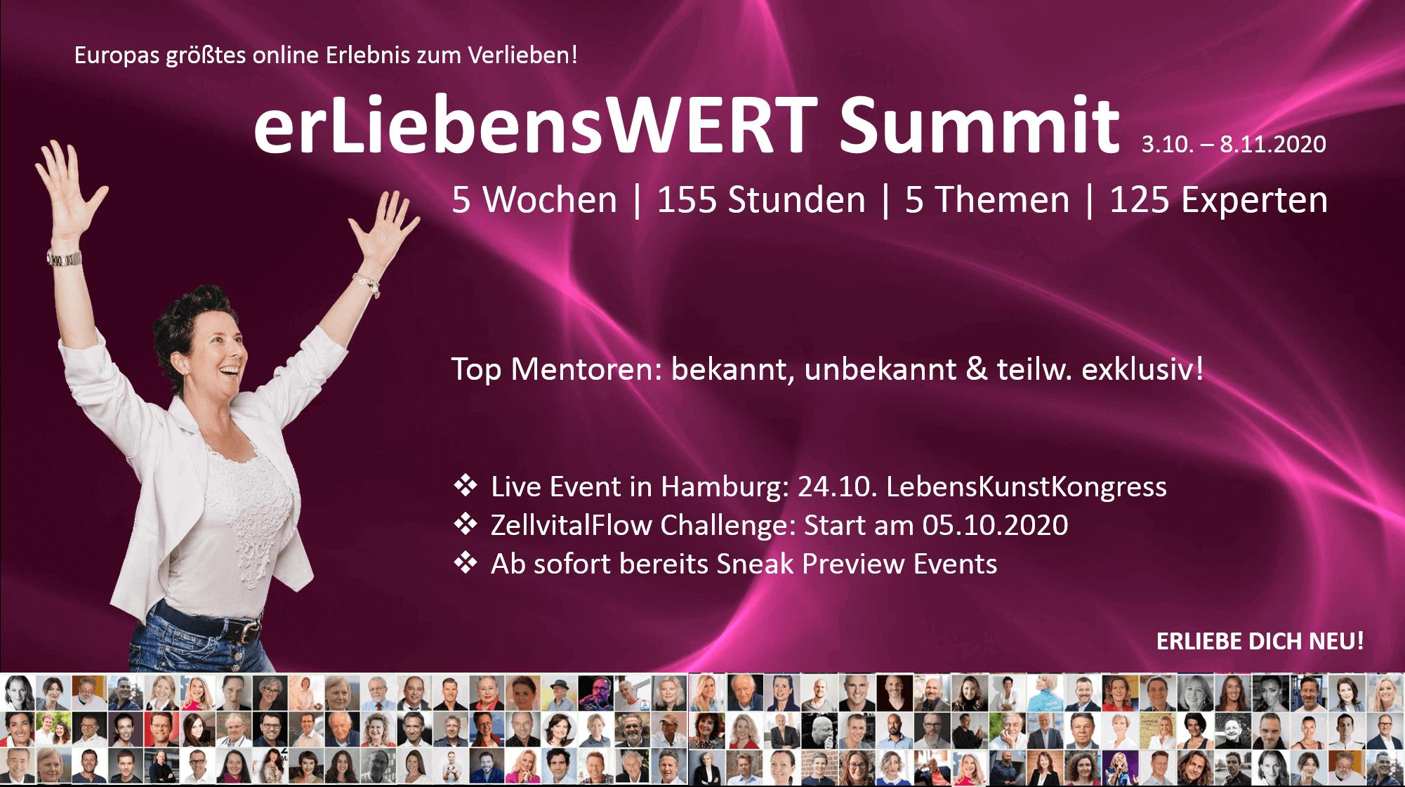 ErLiebensWERT Summit 5 Wochen   125 Experten