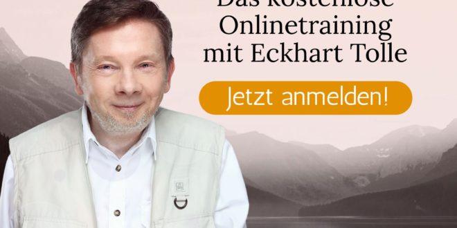 Bewusstes Manifestieren Onlinetraining Eckhart tolle