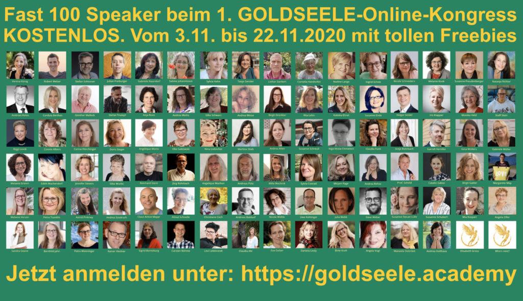 goldseelen kongress speaker und Experten
