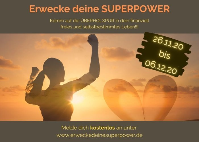 Erwecke deine SUPERPOWER Online-Kongress 26.11.2020