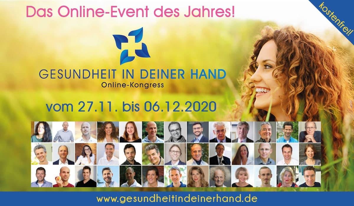 Gesundheit in Deiner Hand (GDH) Online-Kongress