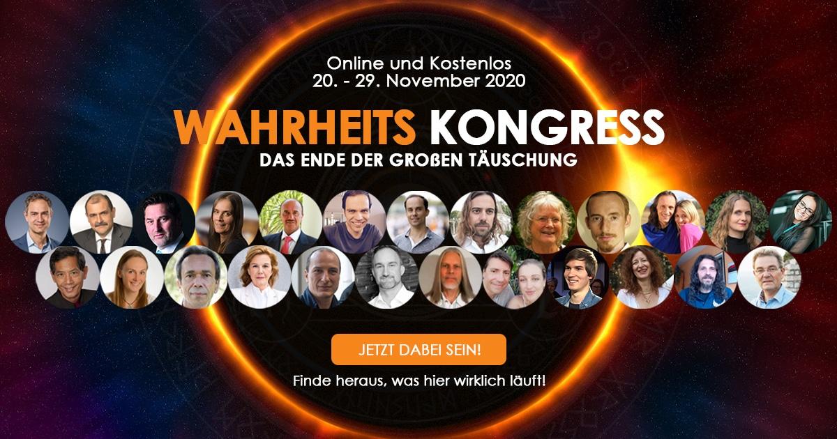 Wahrheitskongress 20.11.2020 | 25 Speaker